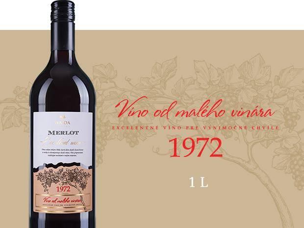 Víno od malého vinára 1972